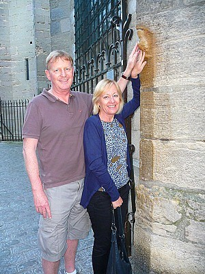 Mark et Sue Robins.