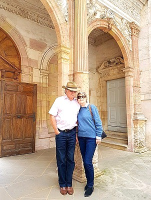 David and Marguerite in Dijon